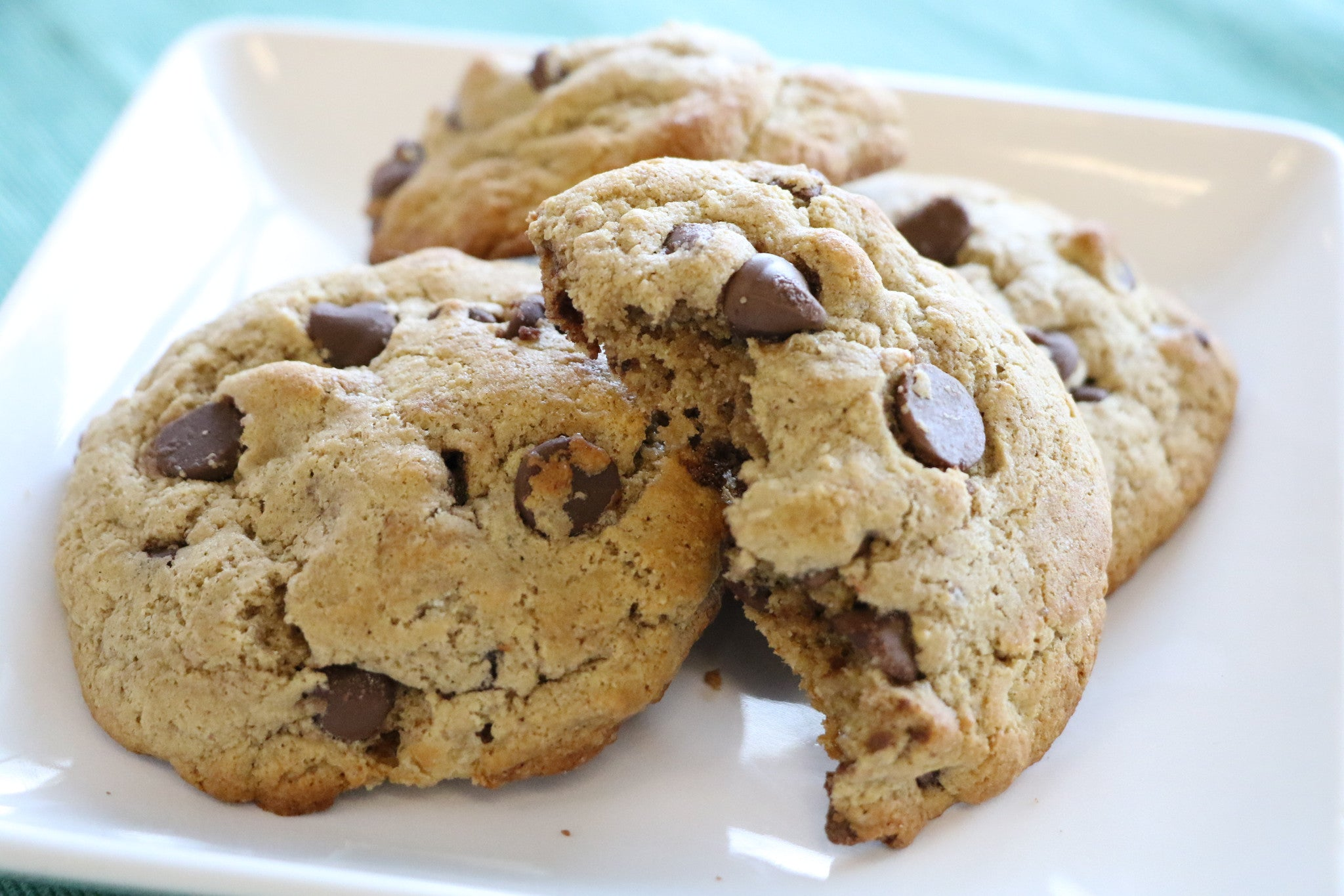 FlapJacked Low Fat Greek Yogurt Chocolate Chip Cookie
