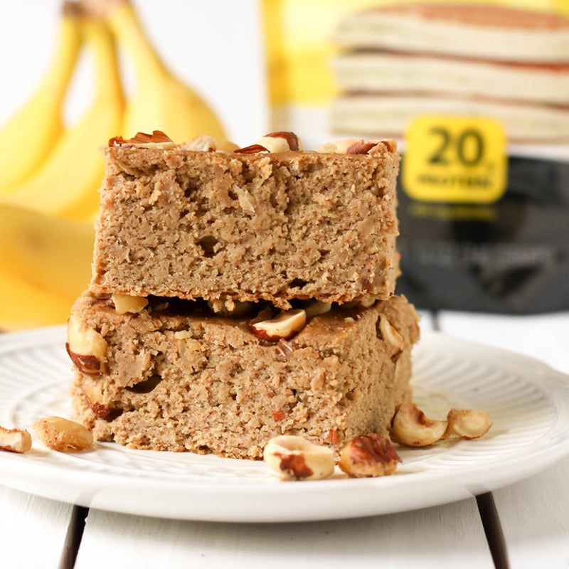 Banana Nut Blondie