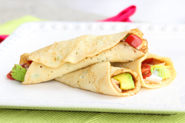 FlapJacked Easy Savory (slightly sweet) Crepes Recipe