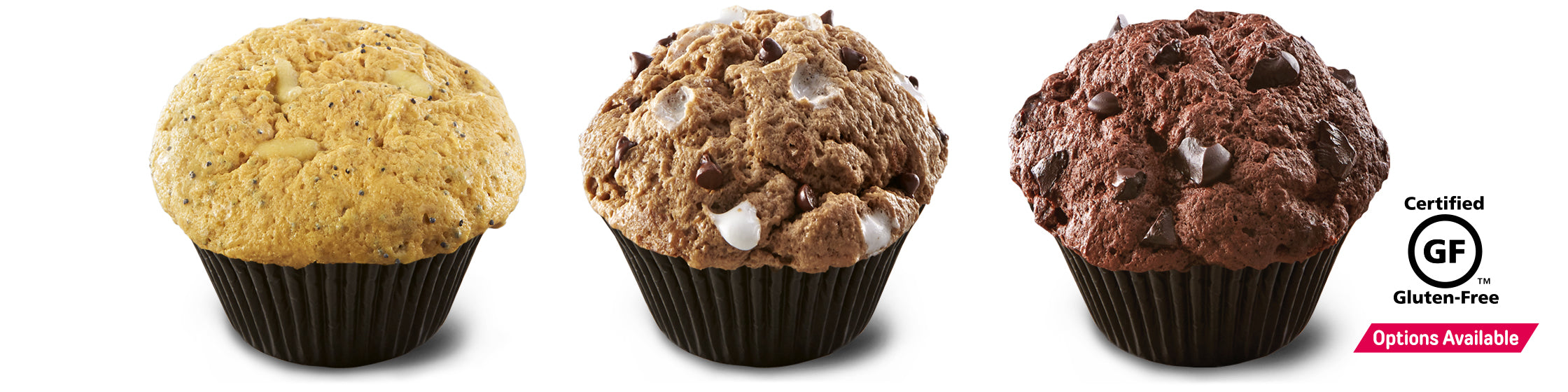 FlapJacked Mighty Muffin® with Certified Gluten-Free Options Available