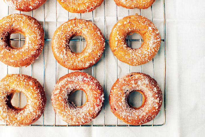 FlapJacked Pumpkin Spice Doughnuts Recipes