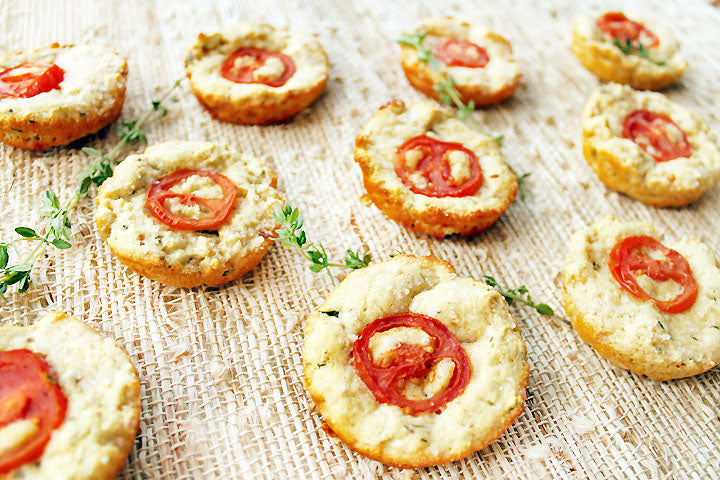 FlapJacked Tomato Tartlets Recipe
