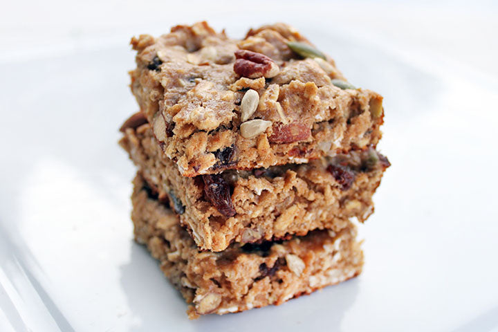 FlapJacked Chewy Trail Mix Bars Recipe
