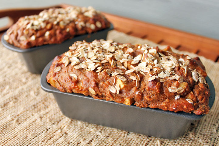 FlapJacked Spiced Apple Oat Bread Recipe