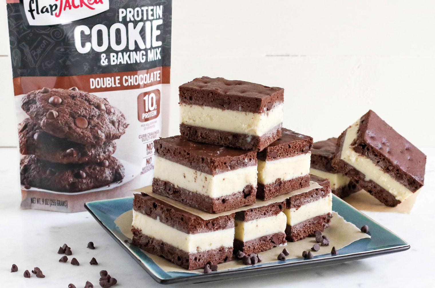 Protein cookie sandwiches