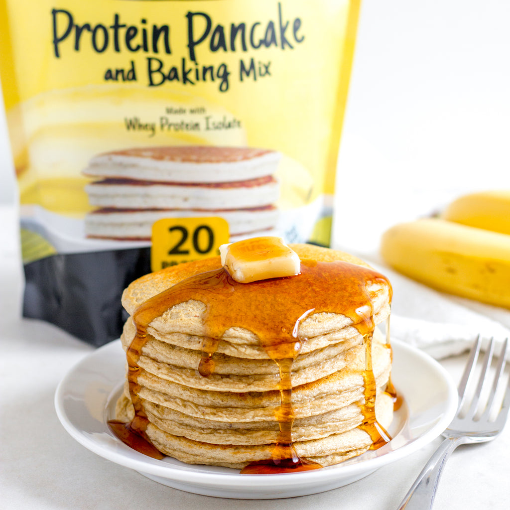24oz - Banana Hazelnut Protein Pancake & Baking Mix