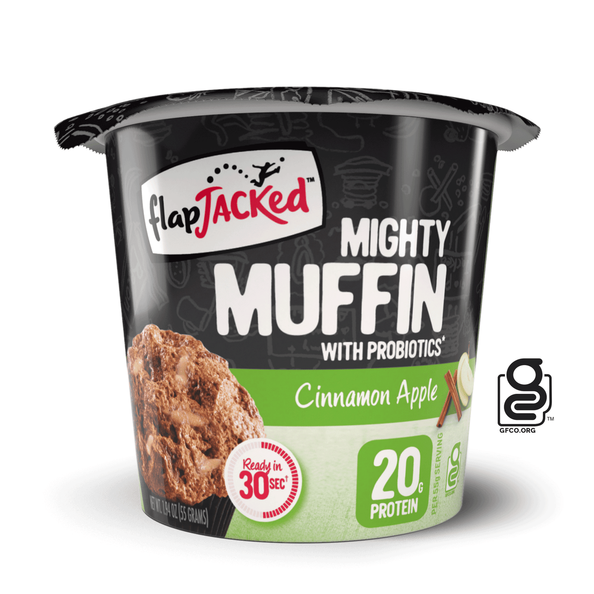 Cinnamon Apple Mighty Muffin - 12 Pack