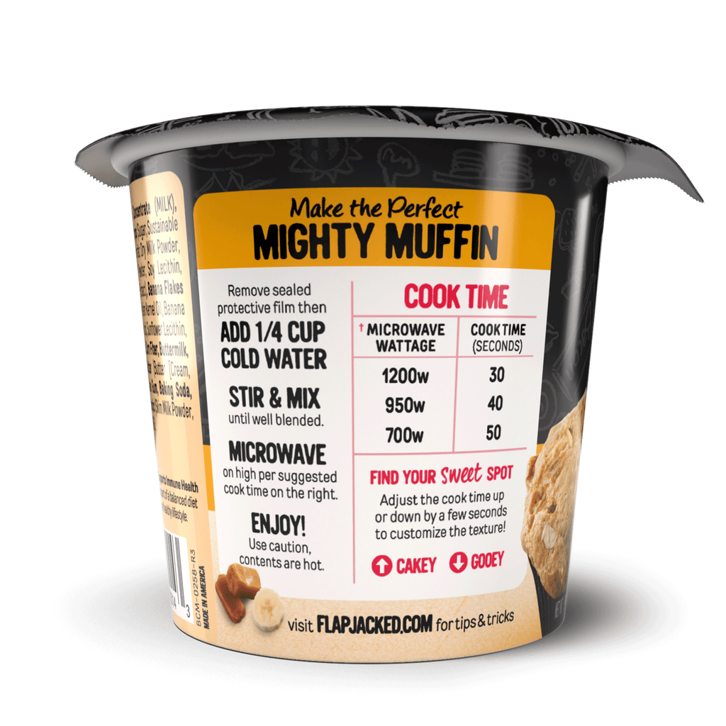 Banana Caramel Mighty Muffin - 12 Pack