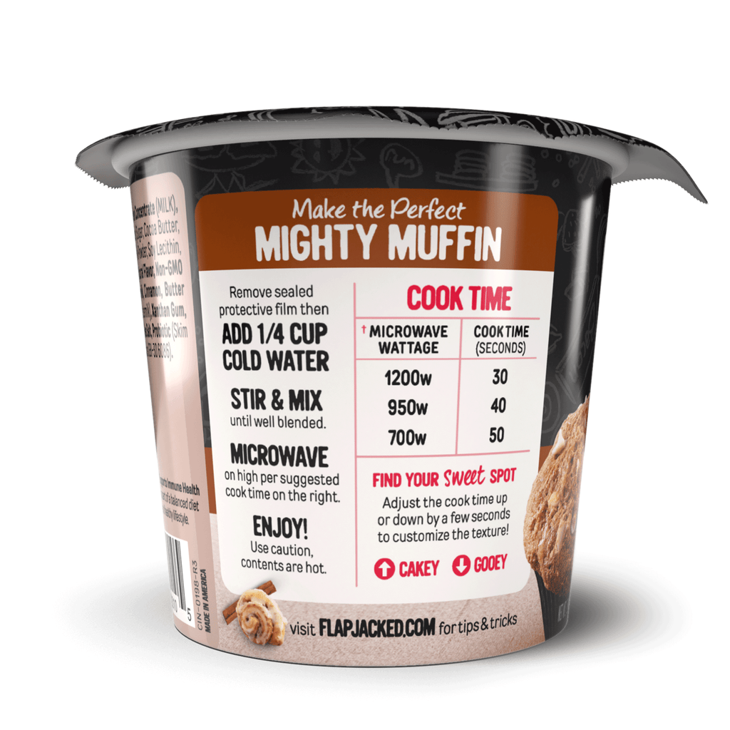 Cinnamon Roll Mighty Muffin - 12 Pack