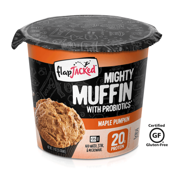 Maple Pumpkin Mighty Muffins