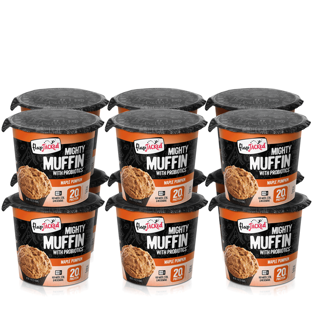 FlapJacked Maple Pumpkin Mighty Muffins