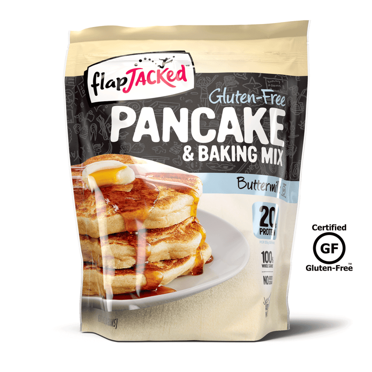 Certified Gluten-Free Buttermilk Protein Pancake & Baking Mix