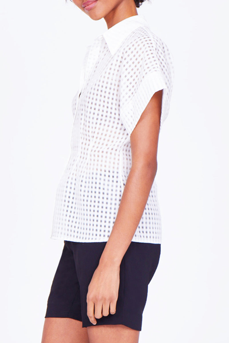 Amanda Uprichard Karen Top - Womens Tops