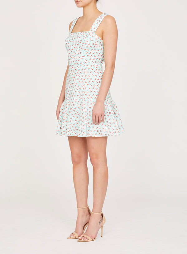 Annalise Dress in Cherry Print