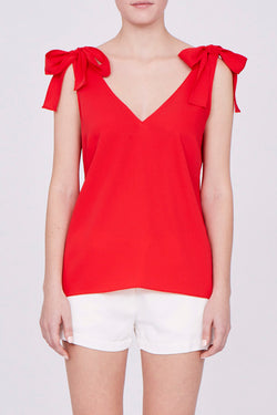 Amanda Uprichard Josephina Top - Womens Tops