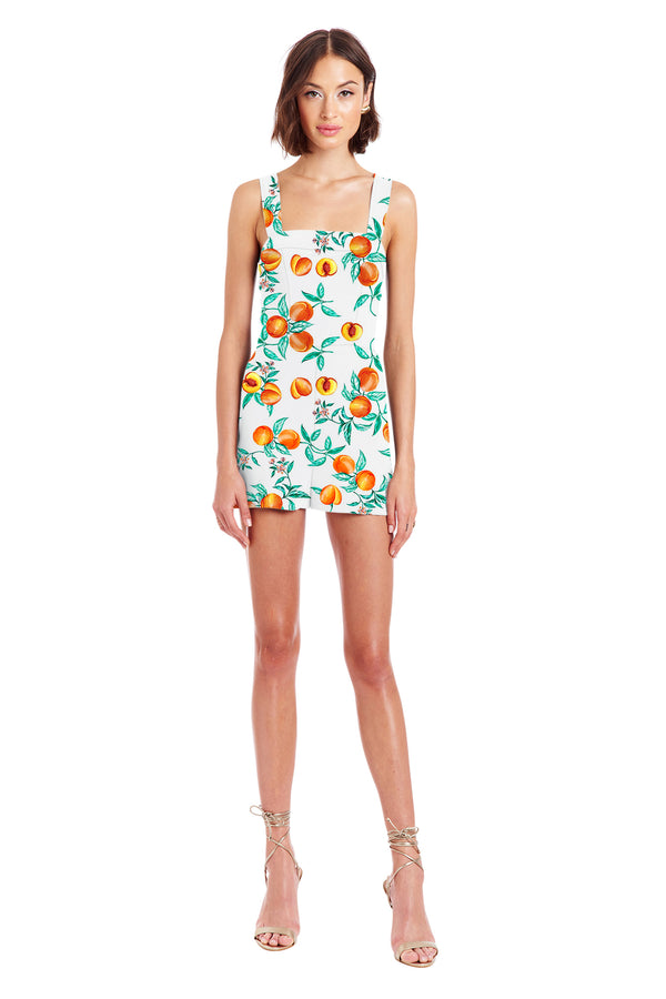 Amanda Uprichard Ace Romper - Peaches | Women's Rompers
