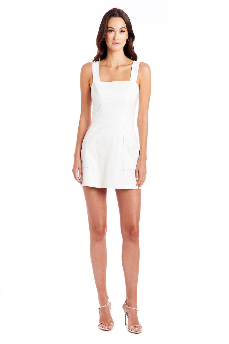 Amanda Uprichard Ace Dress - White | Women's Dresses