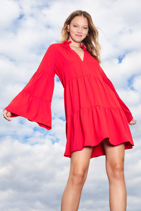 Amanda Uprichard Alexis Dress - Red | Women's Dresses