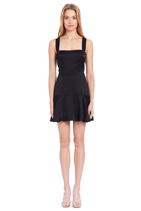 Amanda Uprichard Amelyn Dress - Black | Women's Dresses