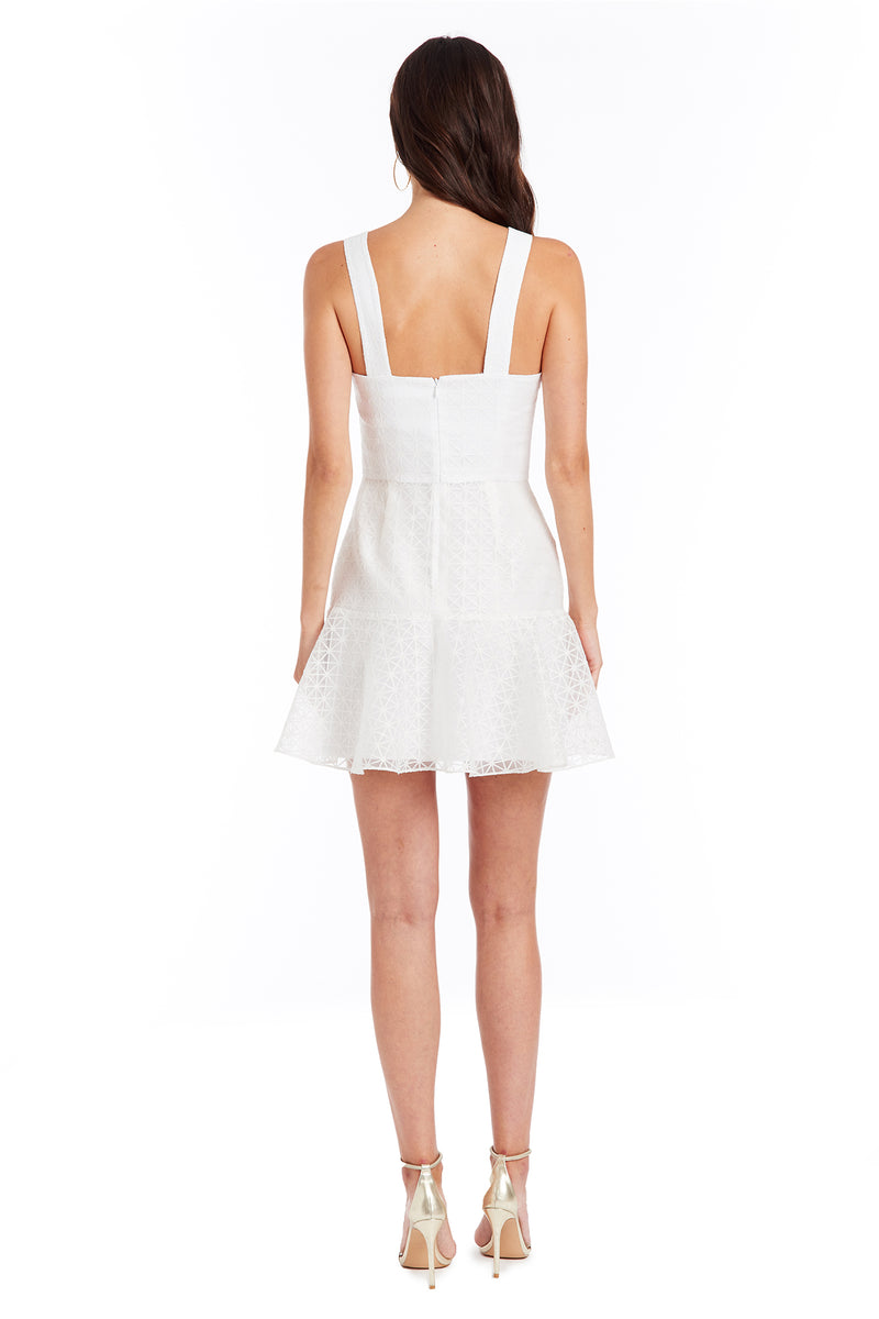Amanda Uprichard Amelyn Dress - White | Women's Dresses