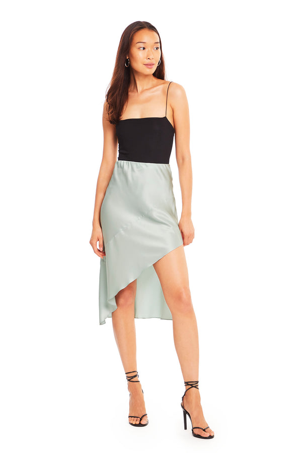 Ansonia Silk Skirt