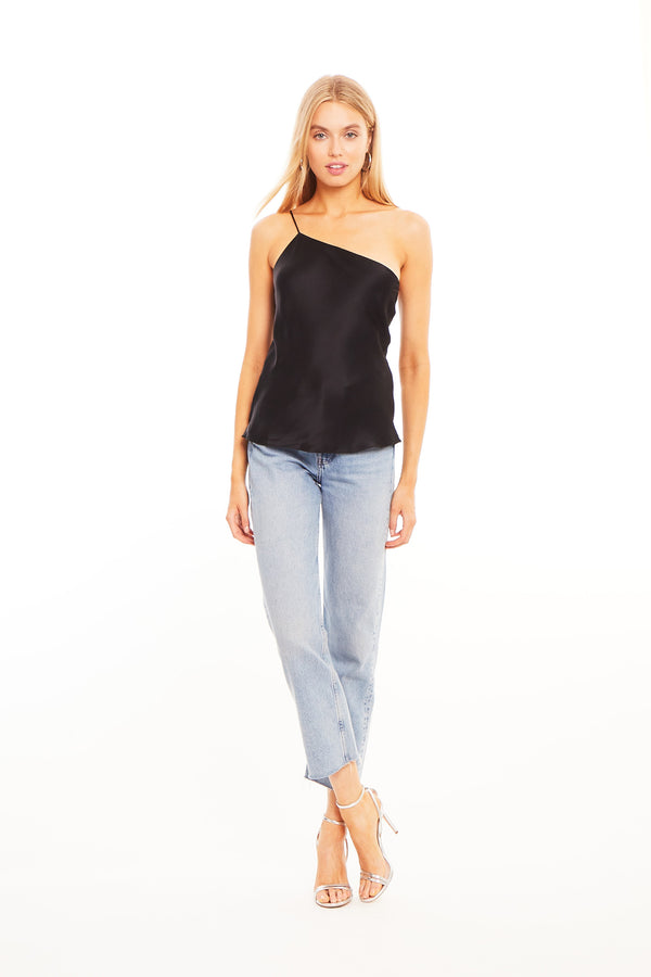 Amanda Uprichard Arly Top -Black | Women's Tops