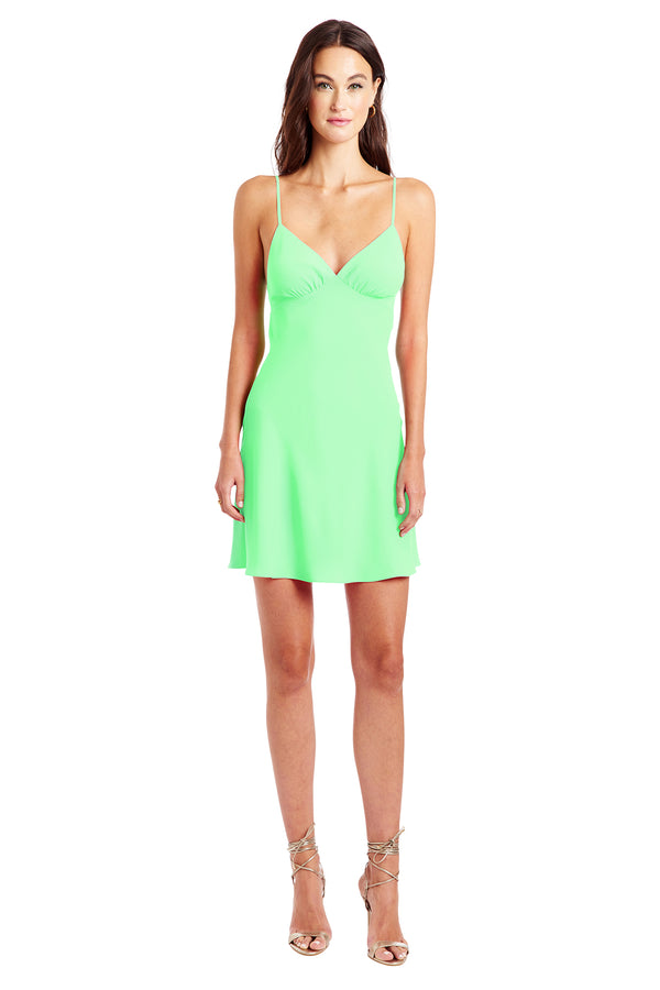 Amanda Uprichard Ashlyn Dress - Green | Women's Dresses