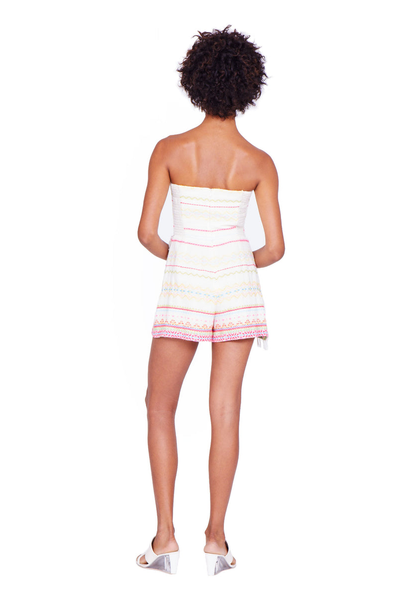 Amanda Uprichard Bayview Romper - Womens Rompers