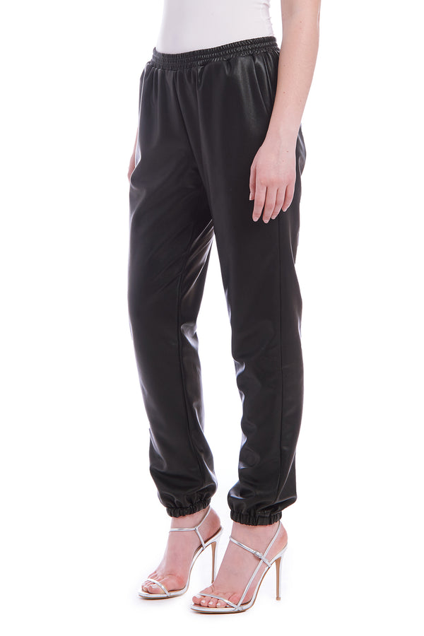 Amanda Uprichard Beacon Pants- Black | Women's Pants