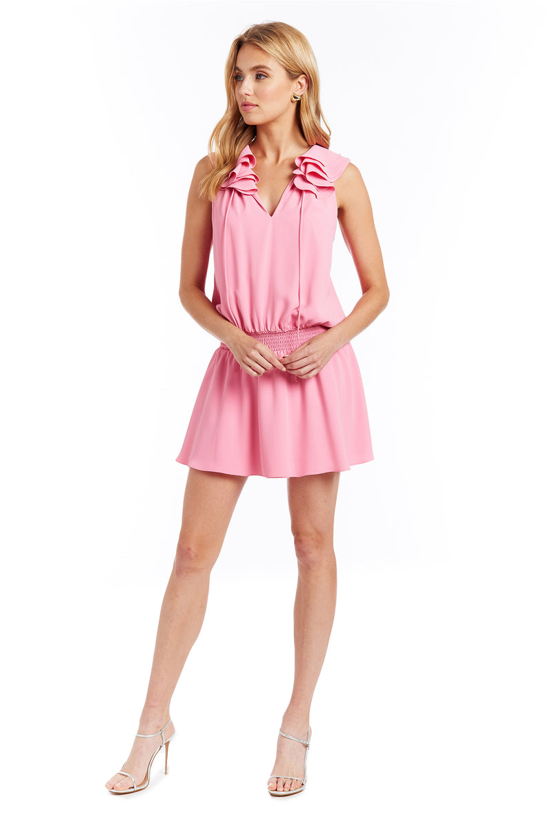 Amanda Uprichard Belle Kimmie Dress - Pink | Women's Dresses