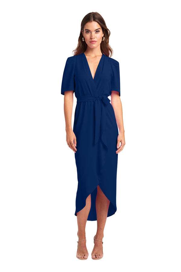 Amanda Uprichard Bonjour Dress - Blue | Women's Dresses