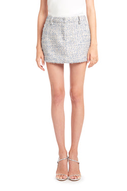 Amanda Uprichard Brooklyn Skirt - Tweed | Women's Bottoms