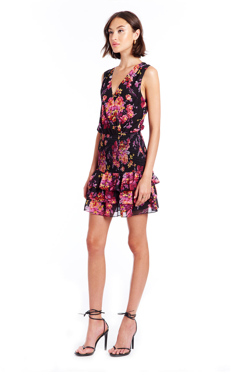 Chantal Dress | Evening Blossom | Women's Dresses | Amanda Uprichard