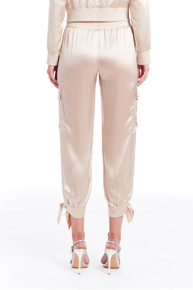 Amanda Uprichard Colbie Pants - Bone | Women's Bottoms