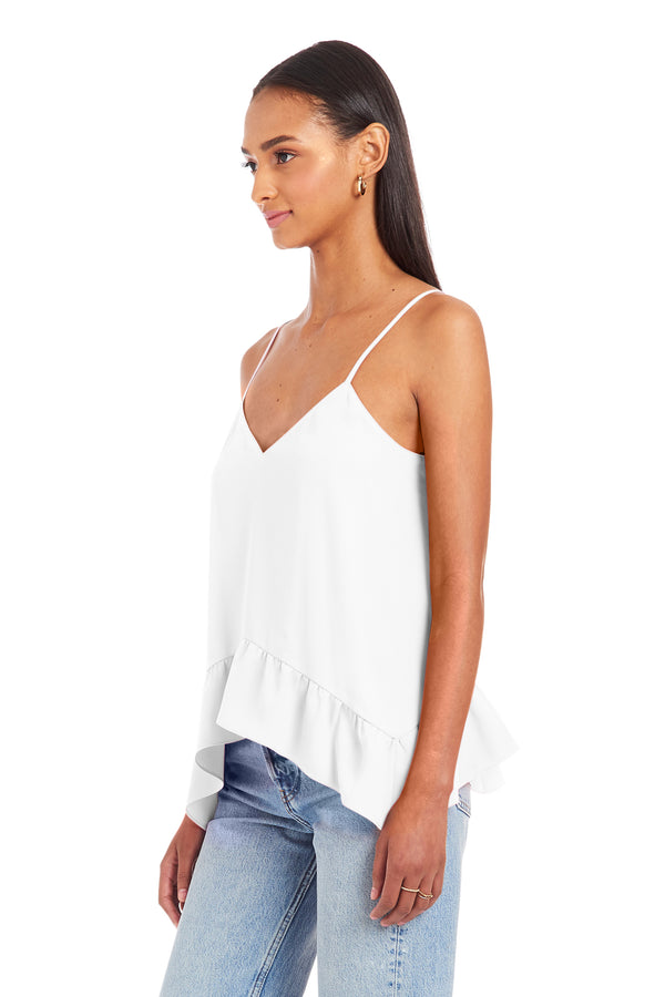 Amanda Uprichard Coretta Top - Ivory | Women's Tops