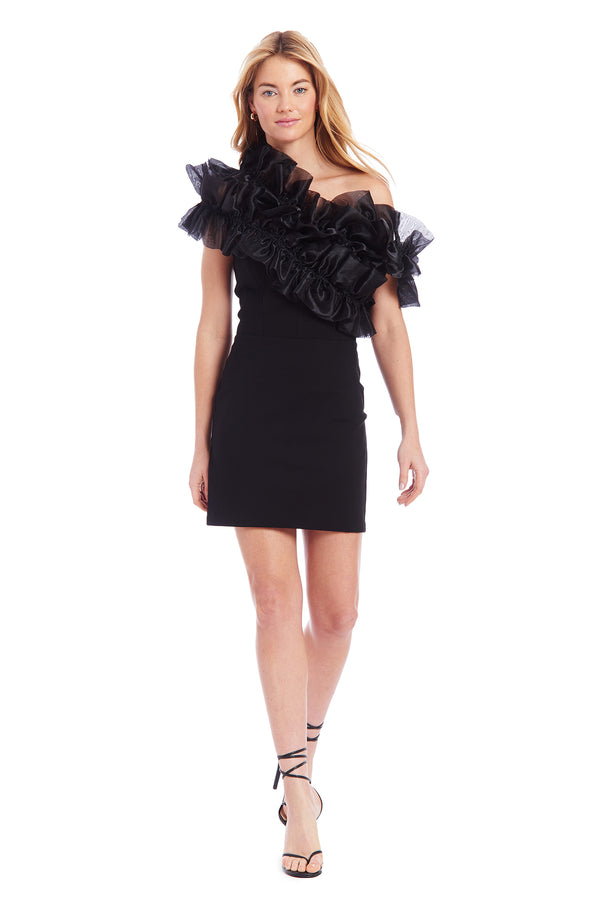 Amanda Uprichard Deja Dress - Black | Women's Dresses