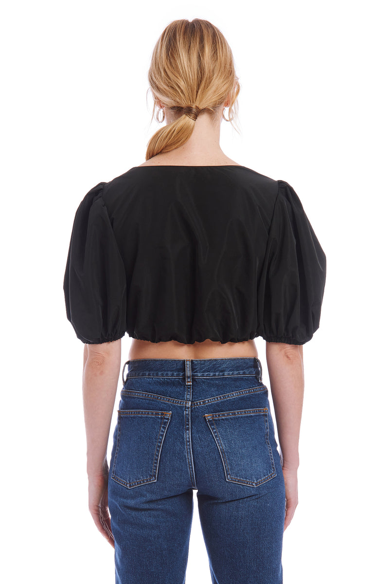 Amanda Uprichard Duval Top - Black | Women's Tops