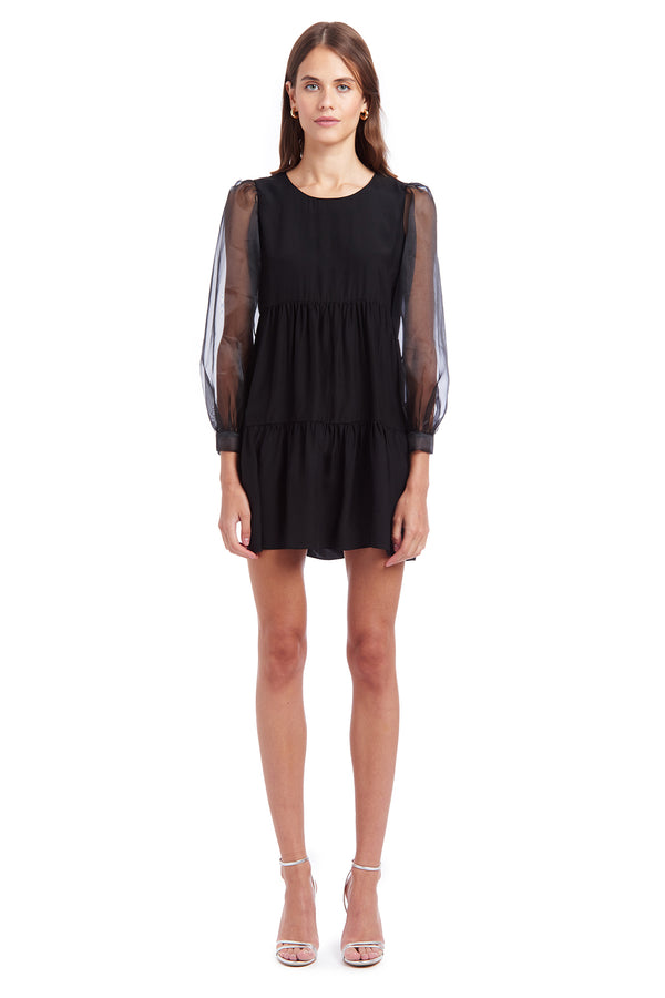 Amanda Uprichard Elaina Dress - Black | Women's Dresses