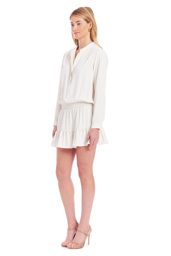 Amanda Uprichard Emerie Dress- Ivory | Women's Dresses