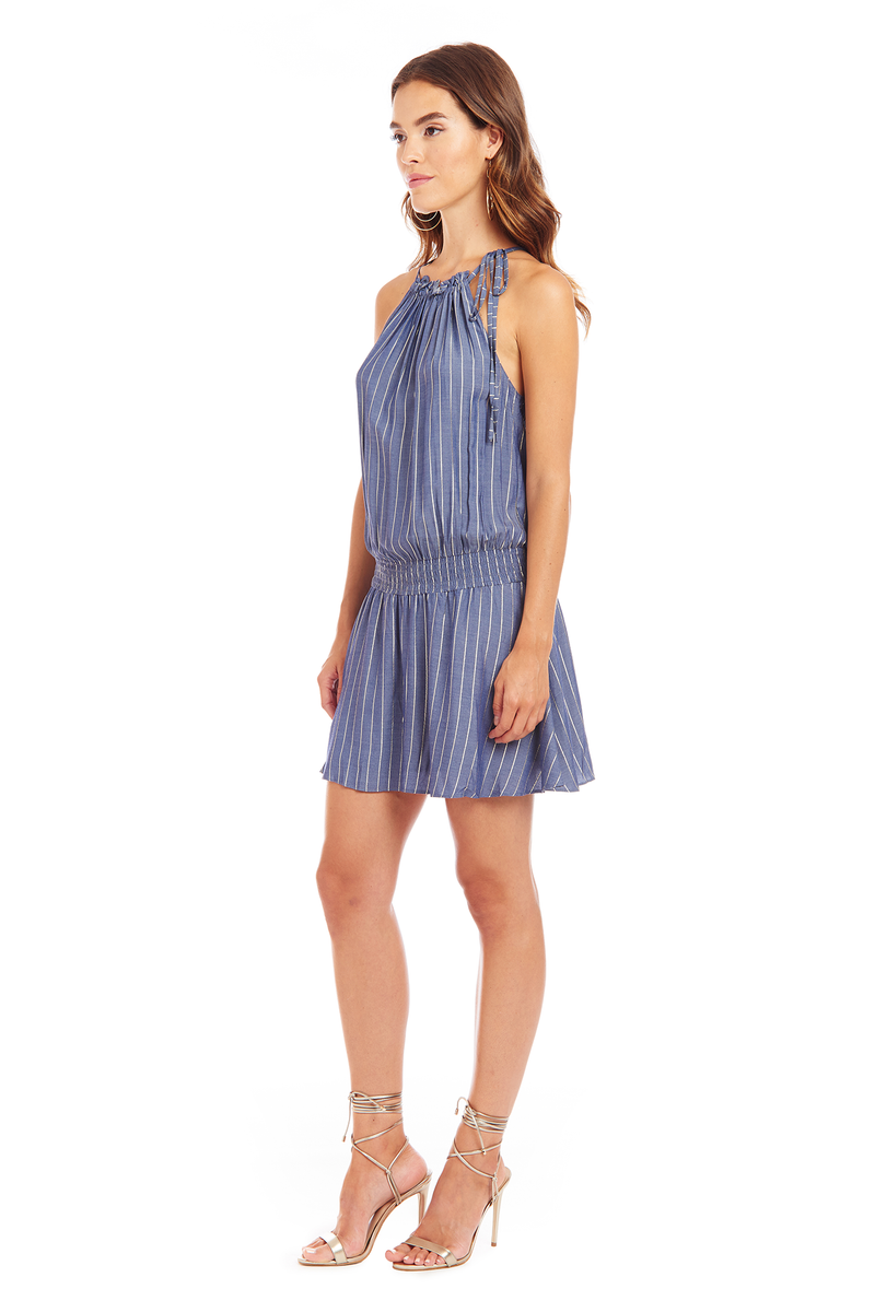 Emlyn Dress in Bainbridge Stripe