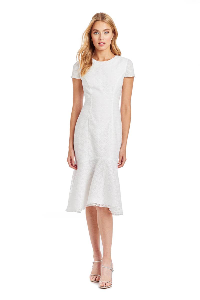Amanda Uprichard Evalina Dress - White | Women's Dresses
