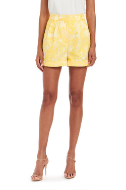 Amanda Uprichard Everett Short - Yellow | Women's Bottoms