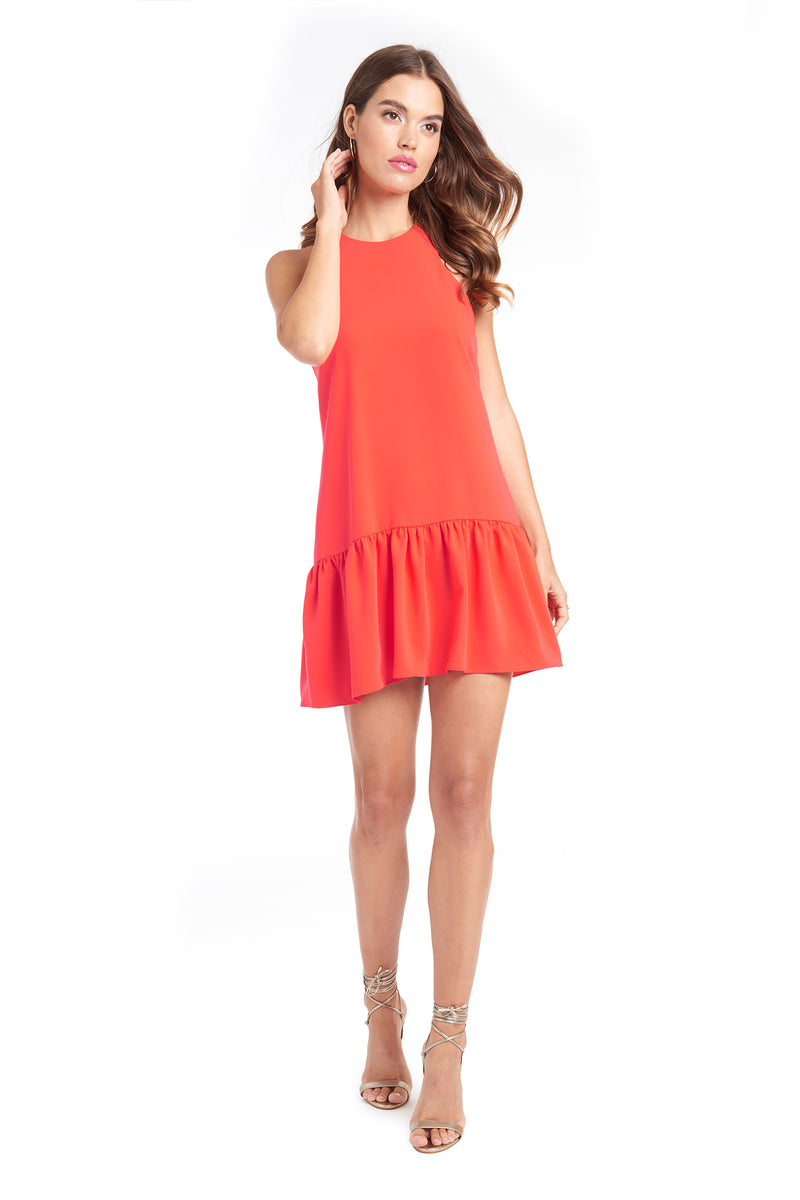 Amanda Uprichard Ezra Dress - Red | Women's Dresses