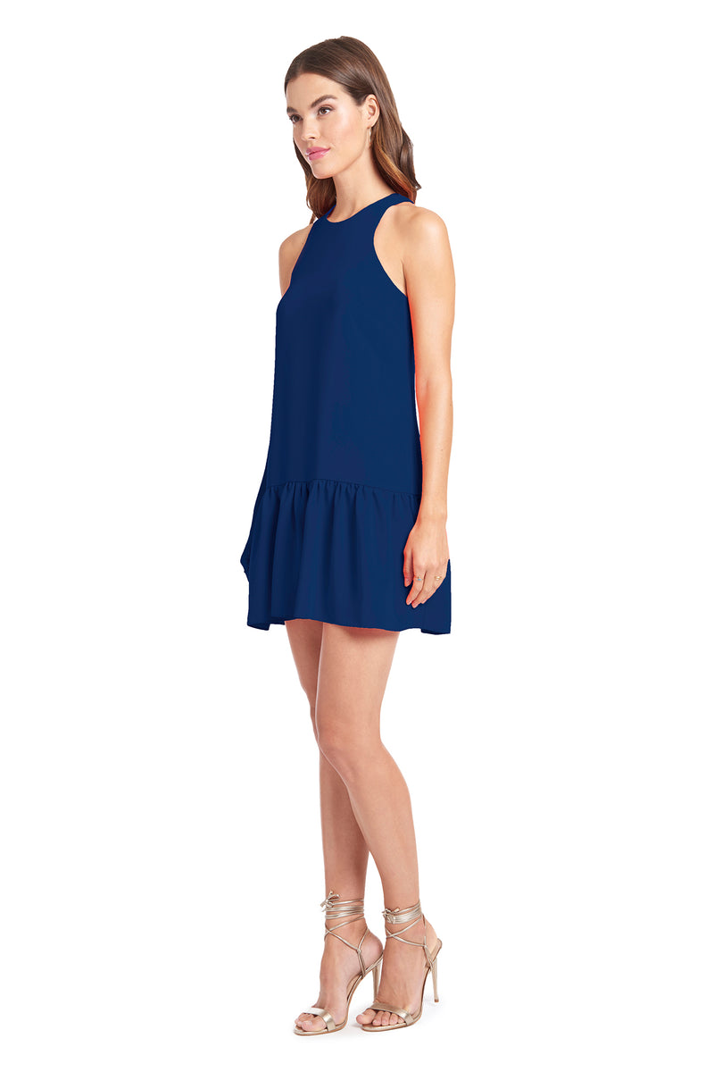 Amanda Uprichard Ezra Dress - Blue | Women's Dresses