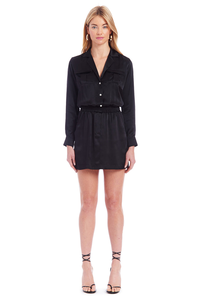 Amanda Uprichard Felix Dress - Black | Women's Dresses