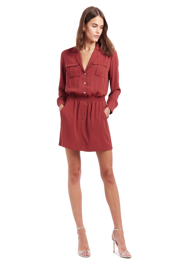 Amanda Uprichard Felix Dress - Red | Women's Dresses