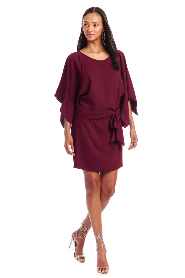 Amanda Uprichard Foster Dress - Wine | Women's Dresses