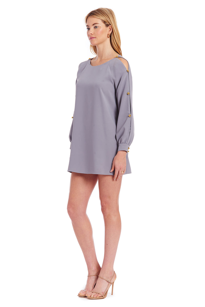 Amanda Uprichard Genesee Dress - Grey | Women's Dresses