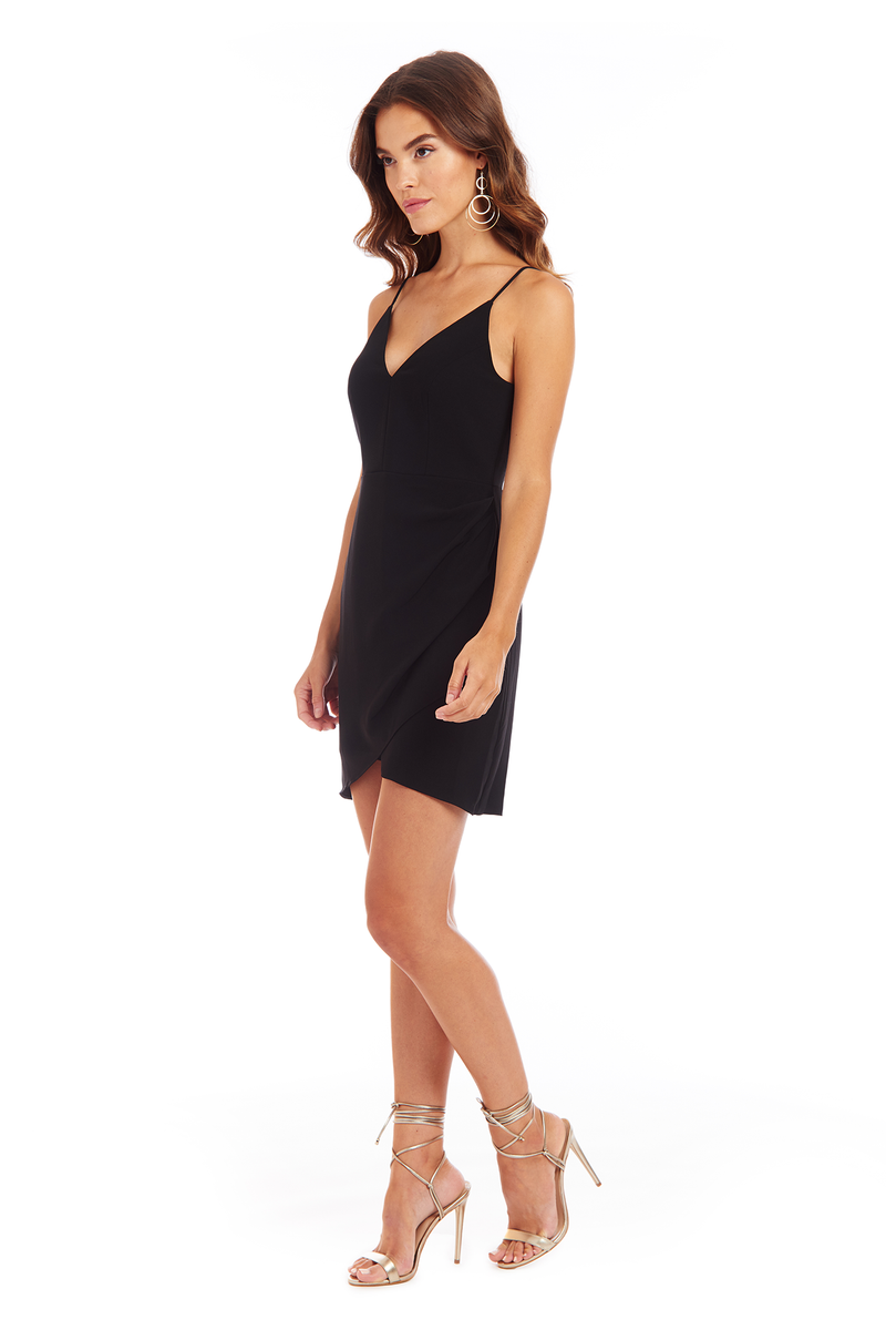 Amanda Uprichard Giovanni Dress - Black | Women's Dresses