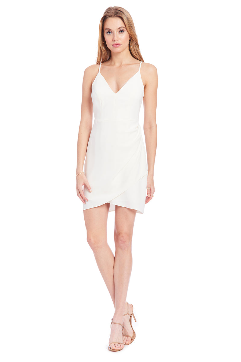 Amanda Uprichard Giovanni Dress - White | Women's Dresses